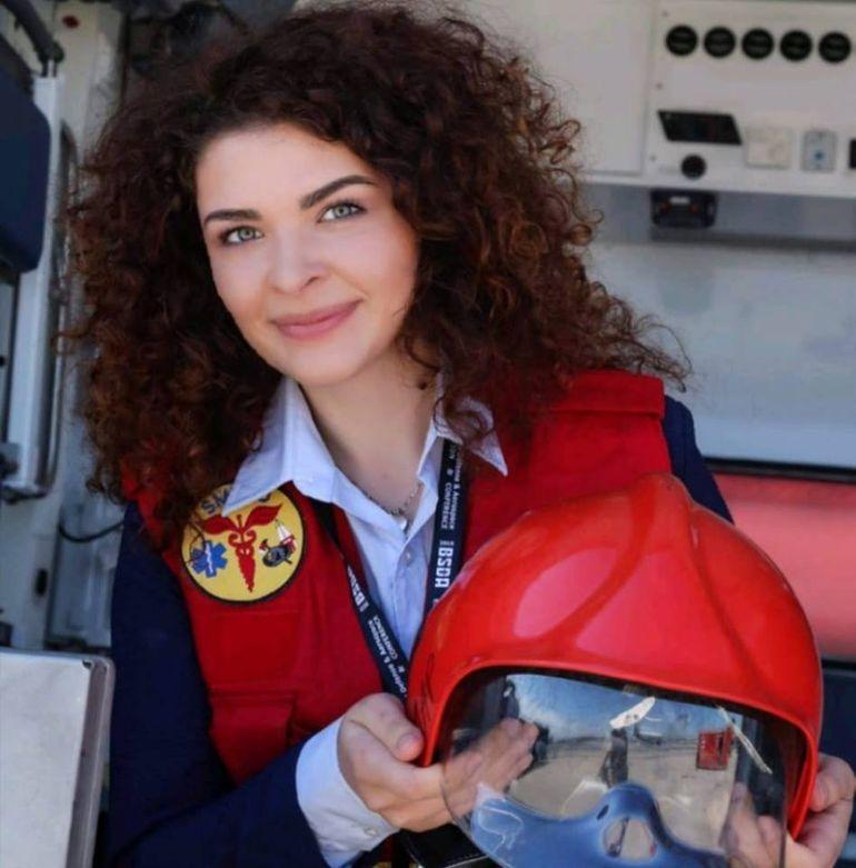 Povestea impresionantă a voluntarei de la SMURD, Andreea!