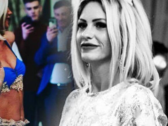 """Hannelore a fost făcută praf pentru că a dansat din buric la o petrecere! Blonda s-a înfuriat: """"Doar frustrate sau pur şi simplu prea prostuţe"""" FOTO"""