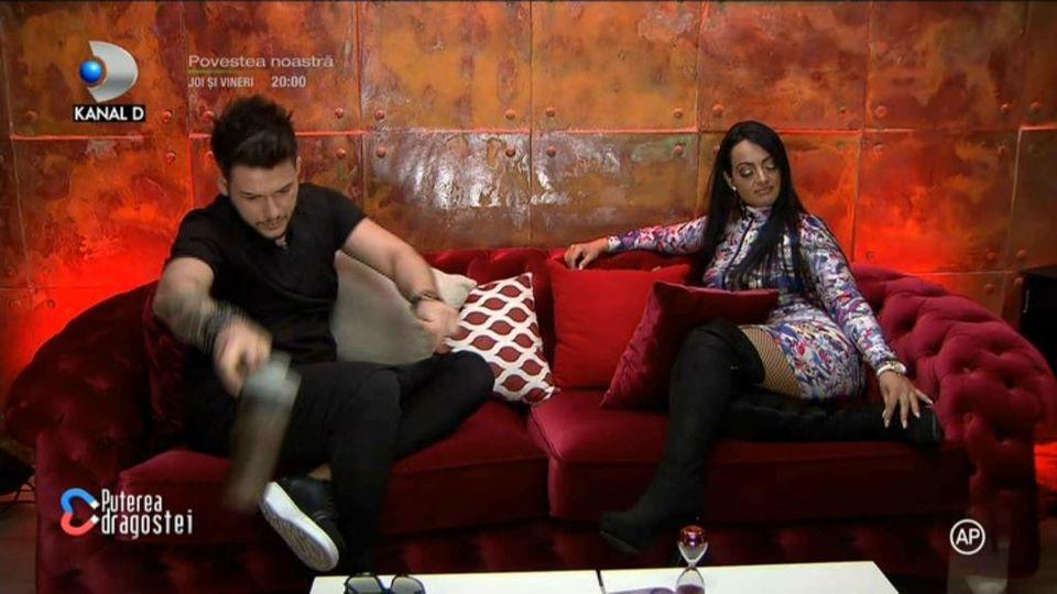 Deea i-a propus lui Ricardo să se despartă de Raluca și să formeze un cuplu cu ea! Ce reacție a avut concurentul de la Puterea Dragostei