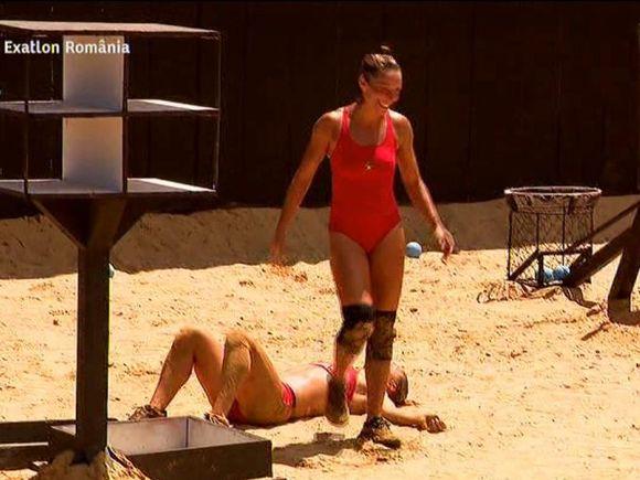 Andreea Zaragiu și Andreea Arsine, meci dramatic la Exatlon! Cine a câștigat duelul