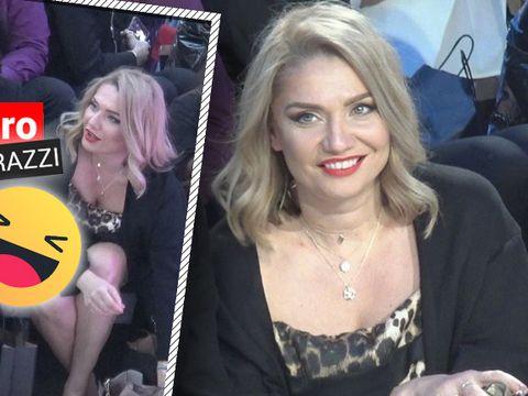 """ȘOCANT! Cristina Cioran și-a arătat chiloții în public! Toată lumea a comentat """"priveliștea""""! IMAGINI EXCLUSIVE"""