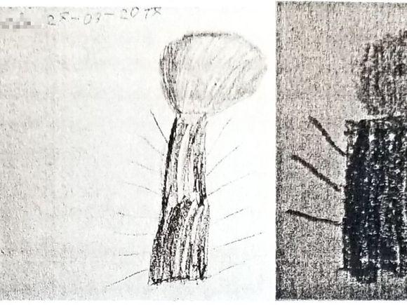 Un pedofil a traumatizat o fetiță de patru anișori! La psihiatrie, micuța desenează în formă de falus până și copacii