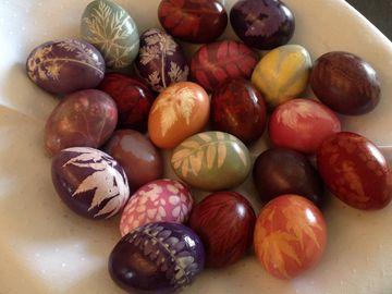 Meniu de Paște 2019. Ce punem pe masă și cum putem vopsi ouăle natural, fără substanțe chimice