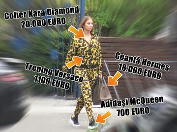 """Anamaria Prodan a făcut senzație pe stradă cu o ținută de aproape 40.000 de euro! Impresara a purtat o geantă de """"doar"""" 18.000 de euro! VIDEO EXCLUSIV"""