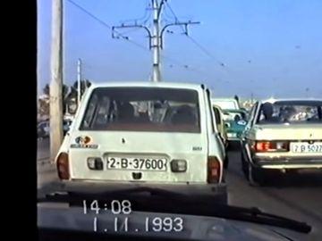 VIDEO O plimbare cu mașina prin București, în anul 1993. Așa arăta Capitala imediat după Revoluție