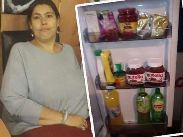 """Credeai că Ioana Tufaru e săracă """"lipită"""", dar uite ce bunătăţi are în casă! A deschis uşa frigiderului pentru reporterii WOWbiz.ro! Vezi imagini cu garsoniera femeii!"""