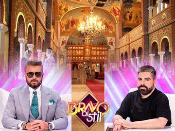 """Maurice Munteanu și Cătălin Botezatu, jurații de la """"Bravo, ai stil!"""", sfaturi vestimentare despre cum ar trebui să ne îmbrăcăm atunci când mergem la biserică!"""