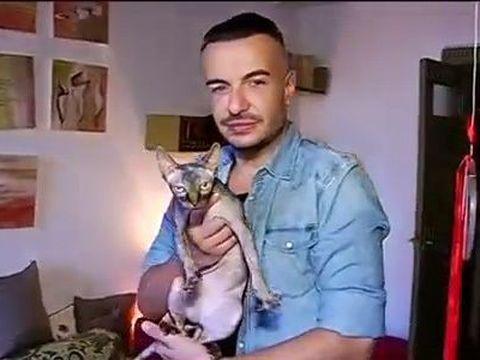 Cât de sărac ajunsese Răzvan Ciobanu! Avea datorii și la magazinul de unde cumpăra mancare pentru pisică