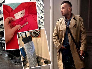 """Prețul rochiilor lui Răzvan Ciobanu a explodat după moartea designerului! Cu cât a ajuns să fie vândută o creație """"second-hand"""" a creatorului"""