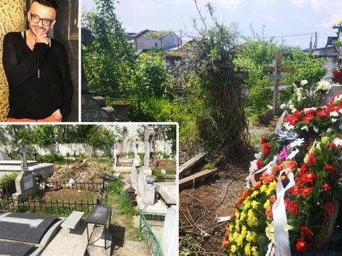 Răzvan Ciobanu, înmormântat lângă un morman de gunoi! Designerul cu cel mai mare apetit pentru viața de lux se odihnește într-un cimitir sărăcăcios