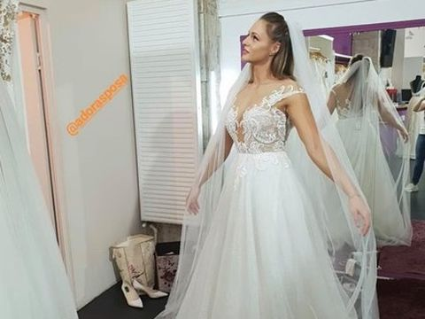 Ana Otvoș a îmbărcat rochia de mireasă înaintea lui Beatrice Olaru! Cum arată războinica de la Exatlon?