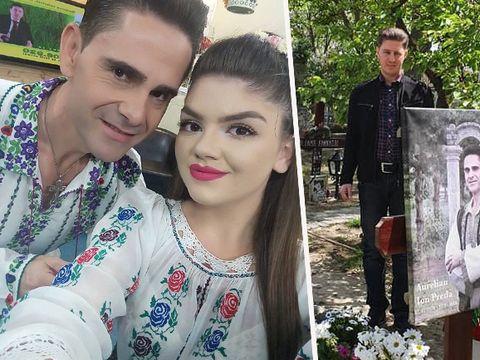 """Nicușor Iordan s-a recules la mormântul lui Aurelian Preda! Fiica acestuia îl acuză de agresiune sexuală! Ce i-a promis cântărețul """"fratelui"""" său"""