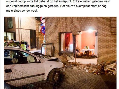 Momente de groază pentru o româncă de 35 de ani din Belgia! S-a trezit la 4 dimineaţa cu o maşină în garsoniera ei!