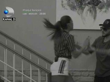 Puterea Dragostei: Momente dramatice în casa fetelor! Roxana și Alex Zănoagă s-au îmbrâncit pe scări! Ce a fost în stare să-i facă lui Bogdan Mocanu