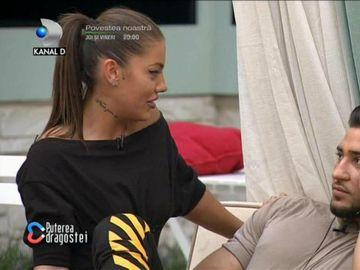 Roxana, criză de gelozie la Puterea Dragostei! Reacția pe care a avut-o când Bogdan Mocanu a invitat-o pe Ana Maria în grădină