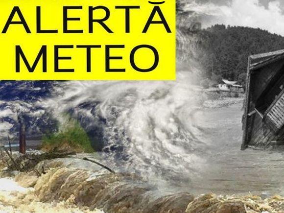 Un ciclon lovește România în această noapte! Ne așteaptă fenomene meteo extreme
