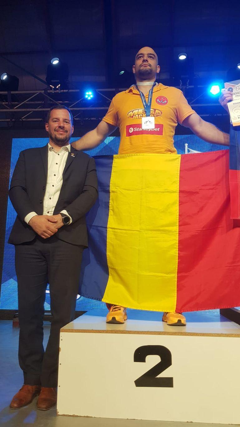 Ion Oncescu a cucerit aurul la Campionatele Europene de Skandenberg! Performanță uriașă pentru sportul românesc EXCLUSIV