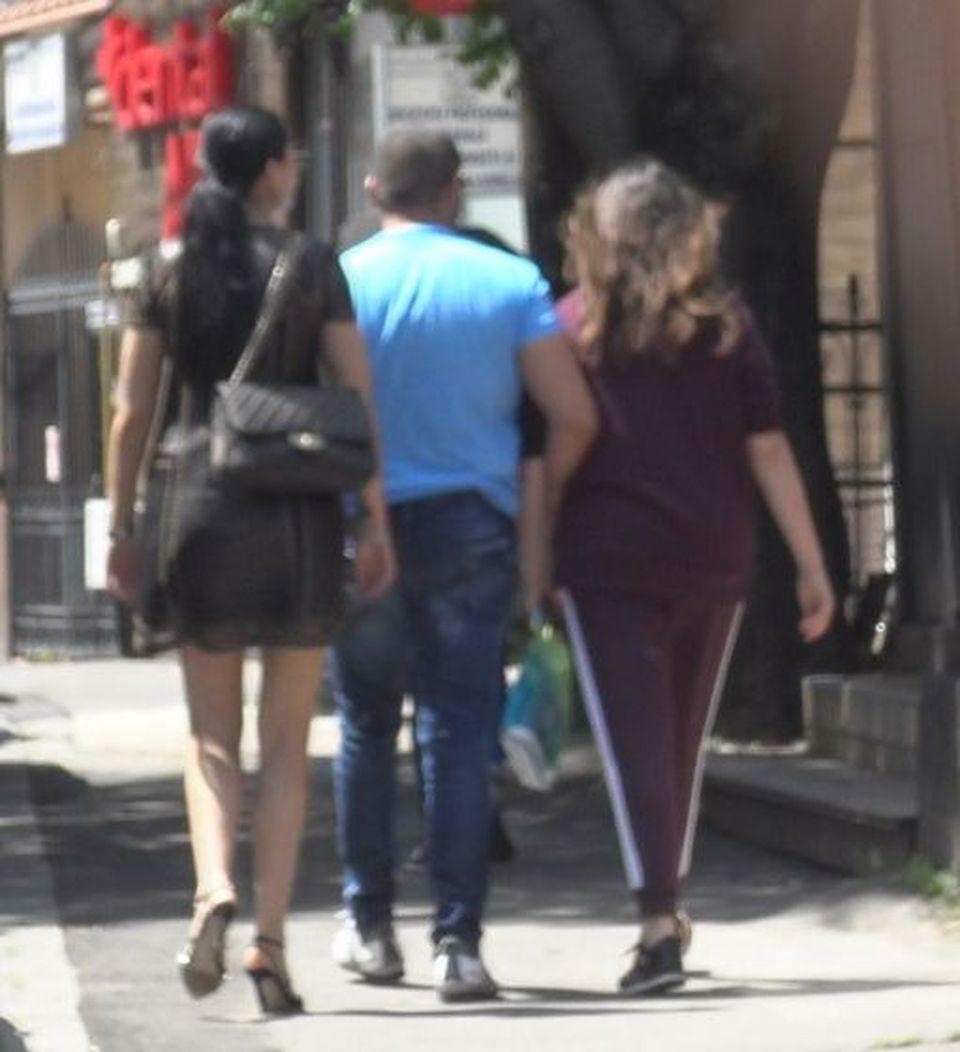 Florin Pastramă, surprins de paparazzi cu altă femeie, de față cu Brigitte! Scenă incredibilă - cum a reacționat bruneta? VIDEO EXCLUSIV