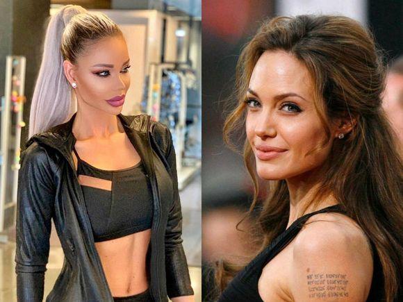 Bianca Drăgușanu, schimbare de look! Asemănare izbitoare cu Angelina Jolie