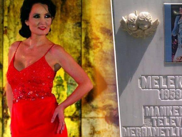 Cum arată mormântul celebrei Melek, răpusă de cancer la doar 47 de ani! S-au împlinit 11 ani de la dispariția manechinului FOTO