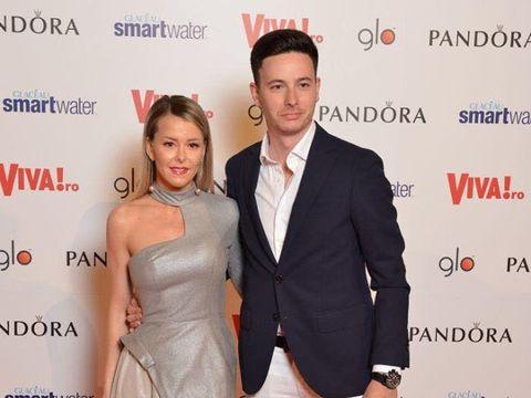 Diana Parvu si Sergiu Negotiu Piloff , aparitie de vis la petrecerea VIVA!