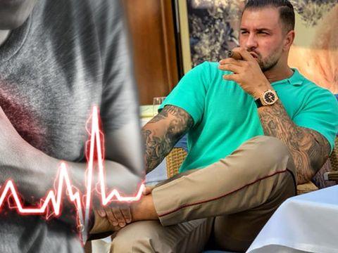 Alex Bodi se teme că o să sufere un infarct? Iubitul Biancăi Drăguşanu bea apă la greu pentru a preveni atacul de cord!