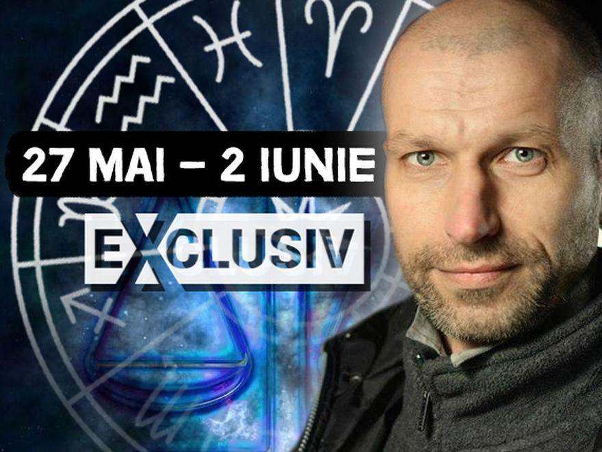 Previziunile zodiacale pentru săptămâna 27 mai – 2 iunie! O perioadă propice investițiilor, conform astrologului Ioan Burculeț VIDEO EXCLUSIV