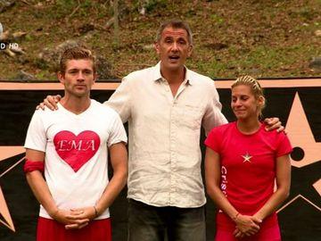 Cristina Constantinescu si Costin Gheorghe au fost eliminati de la Exatlon Romania! Ce au spus, cu lacrimi in ochi, la final