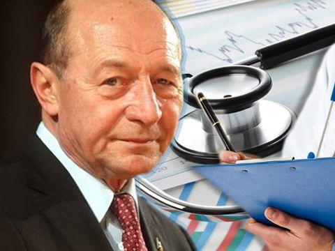 S-a operat Traian Băsescu? Fostul președinte a încasat 17.500 euro de la o companie internațională de asigurări medicale