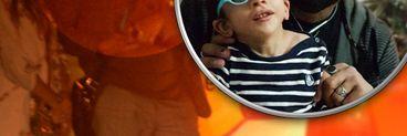 Primele imagini cu Kamara de la operația fiului său! Cum a aratat cântărețul în public după ce fiul său a trecut printr-o intervenție foarte grea