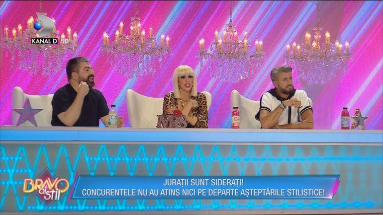 """Maurice Munteanu dă de pământ cu ţinutele concurentelor """"Bravo, ai stil!""""! VIDEO"""