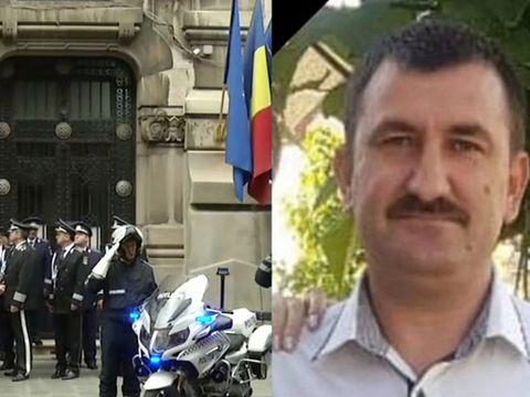 Ce s-a întâmplat la ora 12 în memoria polițistului împușcat mortal în Timiș