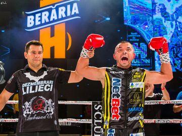 Mirel Drăgan, show total în ring! Faimosul și-a zdrobit adversarul, campionul Serbiei