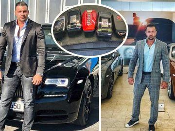 Alex Bodi şi-a umplut garajul cu 5 maşini de lux! Iubitul Biancăi Drăguşanu are un Ferrari, două Rolls Royce, un Maybach şi un Bugatti! FOTO