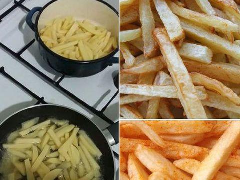 Cum prepari cei mai CROCANŢI cartofi prăjiţi! Acesta este secretul