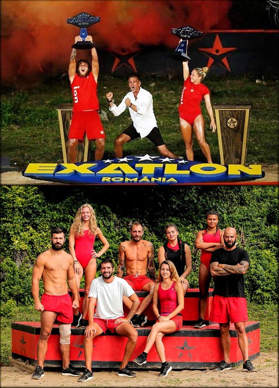 Ce a apărut pe pagina de Facebook a Faimosului Andrei Stoica după ce Ion Surdu şi Andreea Arsine au câştigat finala Exatlon