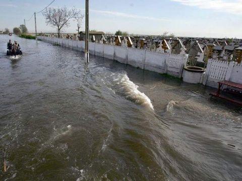 Cod portocaliu de inundaţii! Care sunt județele afectate
