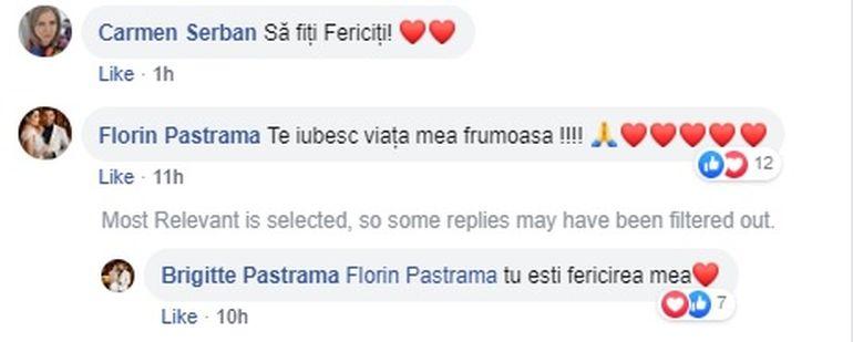 Brigitte și Florin Pastramă, schimb de replici pe internet! Ce și-au scris în văzul tuturor