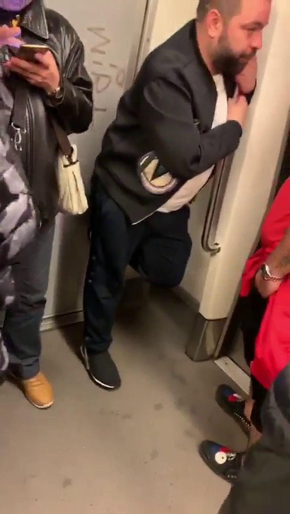 Primele declarații ale Roxanei Dobre despre imaginile halucinante cu Florin Salam la metrou: