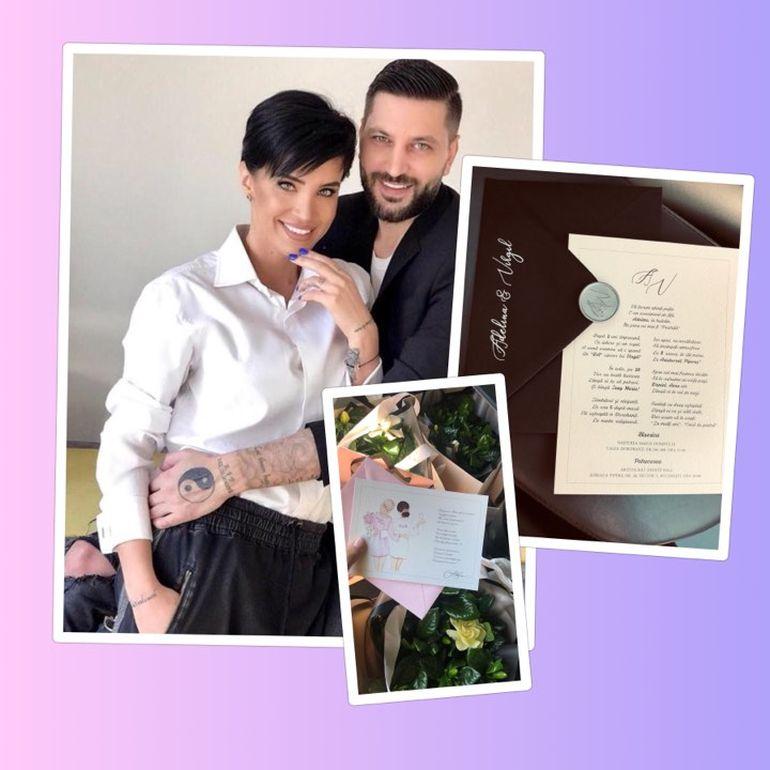 Primele imagini cu invitațiile la nunta Adelinei Pestrițu! EXCLUSIV