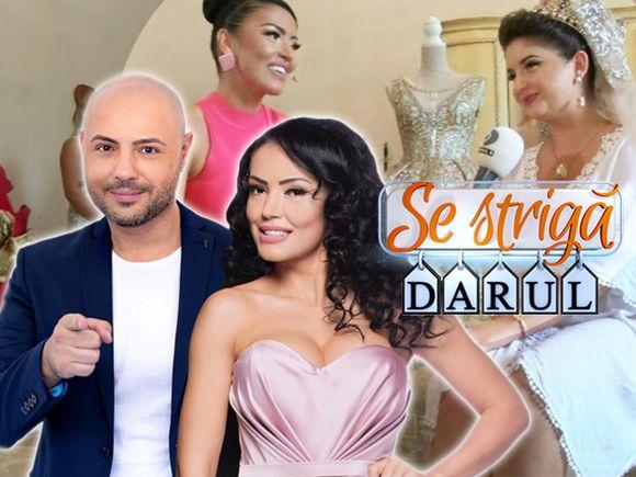"""Astăzi, începe noul sezon """"Se strigă darul!"""" Andreea Mantea, fascinată de o rochie de mireasă! Cât costă aceasta și cum arată, veți putea afla  în această seară, la ora 20:00, la Kanal D"""