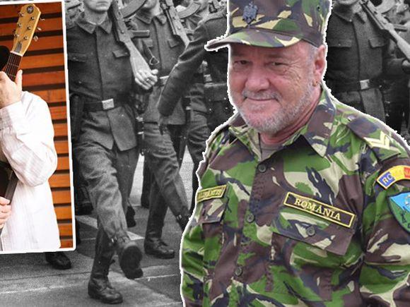 """Cum a ajuns Nicu Alifantis din nou caporal! """"Permiteți să raportez, după 45 de ani..""""FOTO"""
