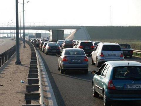 Probleme grave pe Autostrada Soarelui! Circulația, afectată serios de căldură. Restricție de 40 km/h!