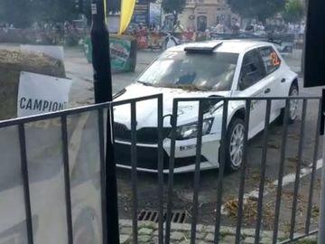 Costel Cășuneanu jr. a provocat un accident la Campionatul de Raliu din Târgu Mureș! Un spectator a fost rănit! Ce s-a întâmplat după aceea