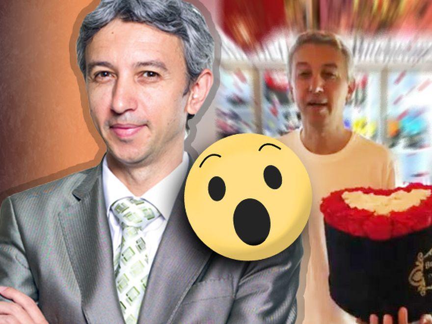 """Dan Diaconescu a ajuns """"o mână de om"""" și face reclamă la o florărie! Fostul șef al OTV nu are voie să apară la TV sau să dea interviuri"""