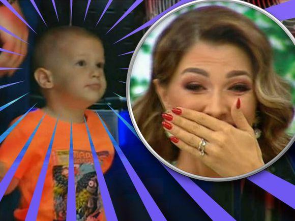Ilinca Vandici, în lacrimi de ziua ei! Băieţelul ei, Zian, i-a făcut o surpriză în direct