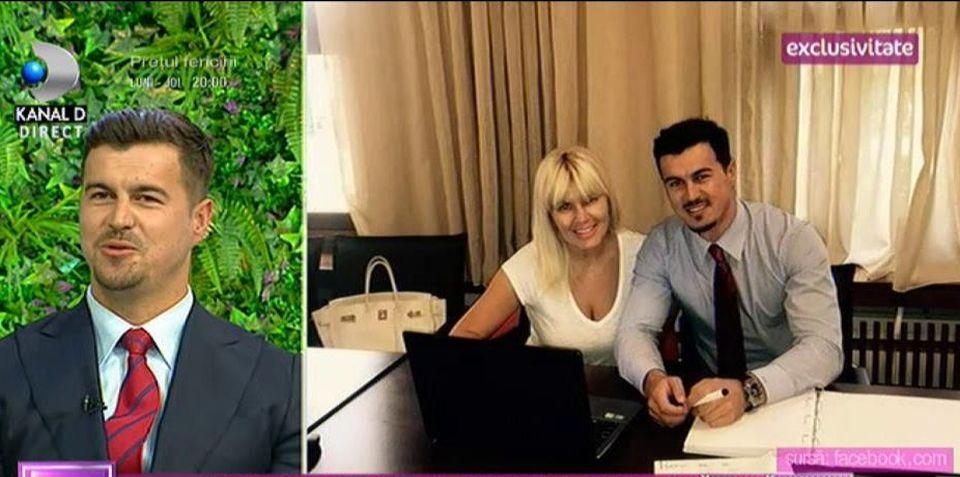 Iubitul Elenei Udrea, declaraţii exclusive la Teo Show!