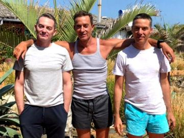 Radu Mazăre în închisoare, frații lui - la un pahar de vin, la o terasă de fițe! Alexandru și Mihai par convinși că fostul edil va scăpa de închisoare VIDEO EXCLUSIV