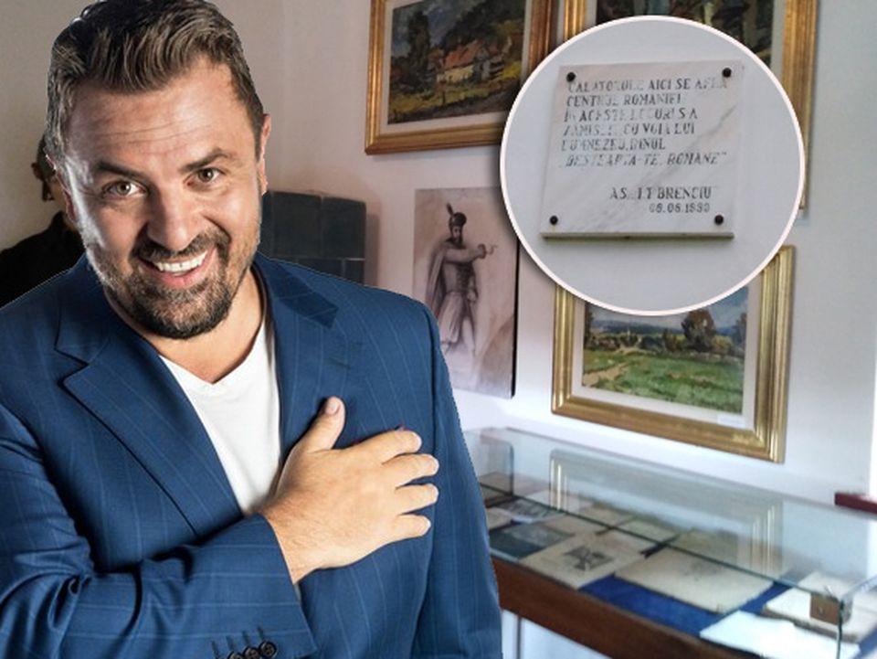 """Casa părintească a lui Horia Brenciu a devenit muzeu! Ce scrie la intrare: """"Călătorule, aici se află centrul României!"""""""