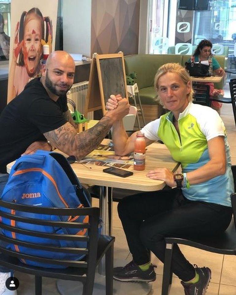 Giani Kiriţă a invitat-o la un suc pe Mariana de la Exatlon! La final, cei doi au făcut o partidă de skandenberg! FOTO